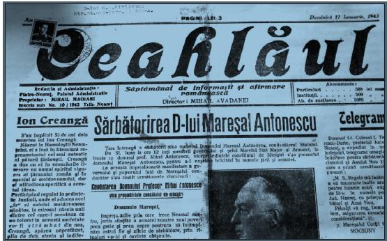 Ziarul Ceahlăul, o istorie furată – Exclusiv!