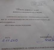 Dan Manoliu şi-a dat demisia din funcţia de vicepreşedinte !