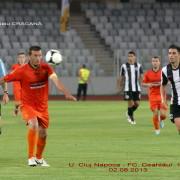 Articol Sportiv : Universitatea Cluj – Ceahlăul: 1-1 (1-1)