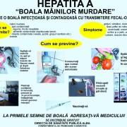 Boala mîinilor murdare atacă: Epidemie de hepatită A în zona Roman