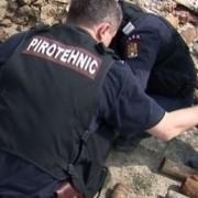 Muniţie din al Doilea Război Mondial distrusă de pirotehnişti