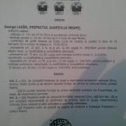Girovul a rămas fără primar: Vasile Olaru a fost destituit prin ordin al prefectului.  Primarul vrea să-i facă dosar penal prefectului George Lazăr.