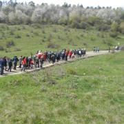 Piatra Neamţ, ora 12-12,30. Drumul Crucii în bătaia clopotelor pe Pietricica