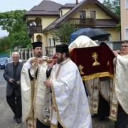 Moaştele Sf. Simeon au ajuns la Piatra Neamţ. Mîine, ele vor fi purtate în procesiune.