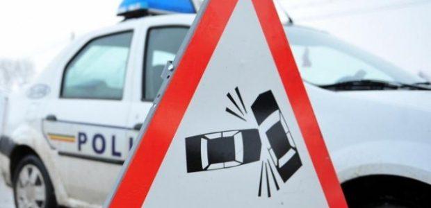 Șoferiță de 18 ani,  impact cu un tir la Gherăiești