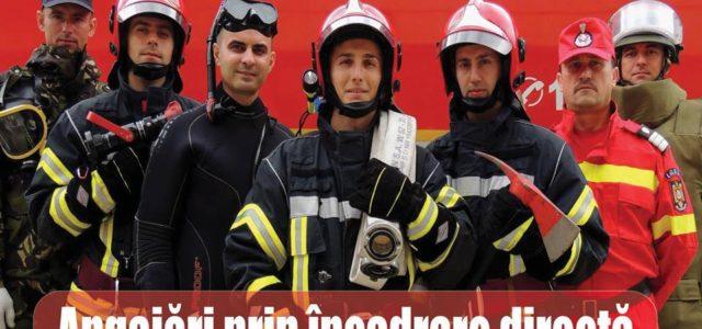 """Angajări la Inspectoratul pentru Situaţii de Urgenţă """"Petrodava"""""""