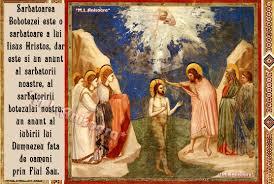 Botezul lui Isus în apele Iordanului, una dintre cele mai mari sărbători creştine