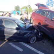 Girov: intersecția groazei face noi victime. Trei persoane accidentate