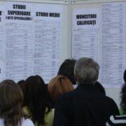 La o lună după Bursa Generală, sute de nemțeni s-au angajat