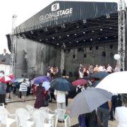 Ploaia a stricat ploile la debutul Zilelor Oraşului Piatra Neamţ