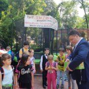 Viceprimarul Bogdan Gavrilescu, înapoi în lumea copilăriei