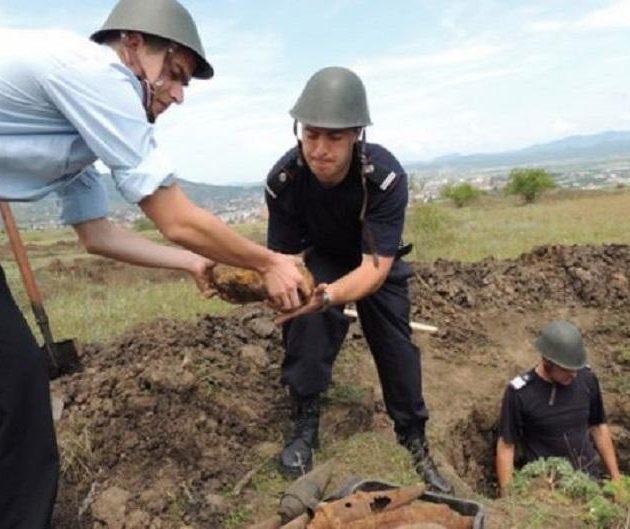 Încă se mai găseşte muniţie neexplodată din cel de al doilea război mondial