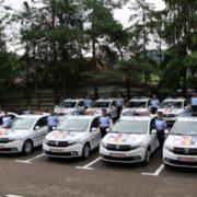 După radarul ultra-performant, Poliţia Neamţ a primit 10 maşini