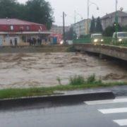 Cod galben hidrologic pe bazinul Bistriţa!