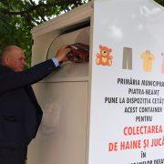 Piatra Neamţ trece la reciclare: echipamente electronice şi haine