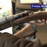 Neamţ: armă confiscată, sechestru asigurator