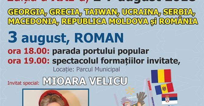 """Astăzi, debutul Festivalului Internaţional de Folclor """"Ceahlăul"""""""