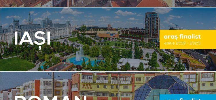 Municipiul Roman, finalist în titlul Capitala Tineretului din România