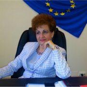 Senatoarea de Neamţ, Emilia Arcan, chestor al Senatului