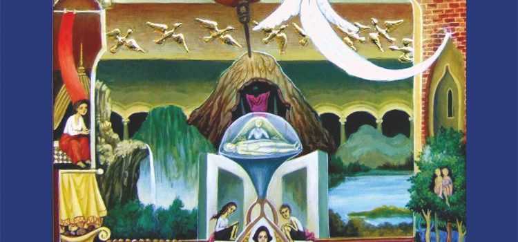 """PETRU BOTEZATU – Expoziție de pictură  Selecții din ciclurile """"IMAGINARIA"""" și """"ROMÂNIA MITICĂ"""""""