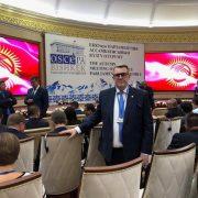Senatorul Eugen Ţapu ne informează că a plecat în Kârgâstan