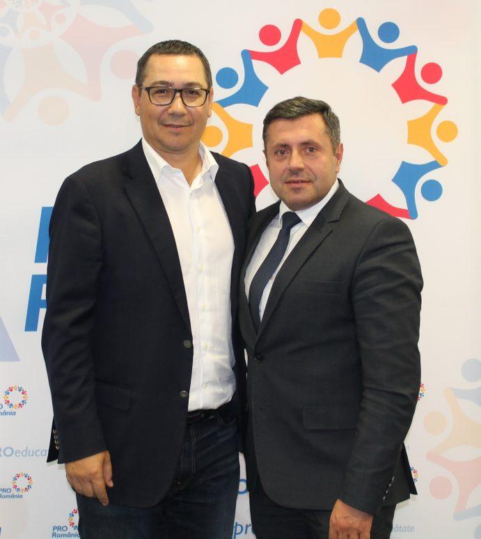 Pro România Neamţ: Harbuz – preşedinte judeţen, Panaite – preşedinte la Piatra Neamţ,