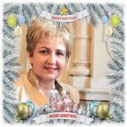 """Senator Emilia Arcan: """"Să vă bucuraţi de minunea Naşterii Mântuitorului şi trecerea în noul an!"""""""
