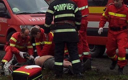 Bărbat salvat de pompieri în urma manevrelor de resuscitare