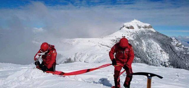 Pericol de avalanşă pe Ceahlău