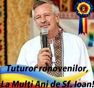 Roznov: Mesajul primarului Ionel Ciubotaru de Sf. Ioan