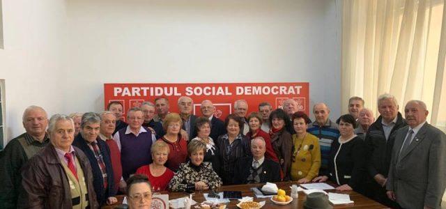 PSD Neamţ: întâlnire a organizaţiei seniorilor