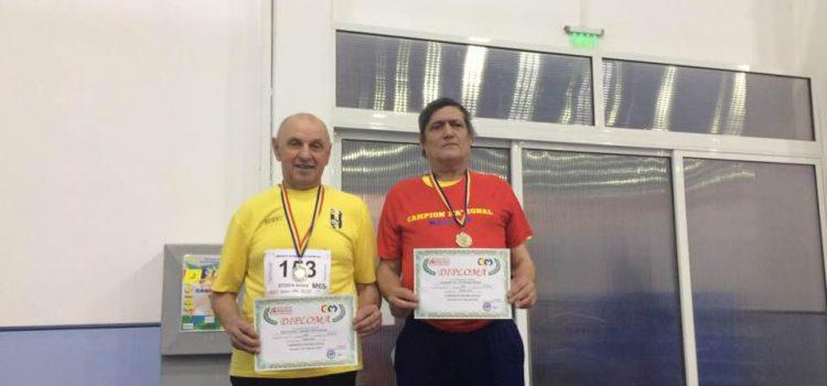 Fost pompier, coşarul cu noroc: Ionică Stoica medaliat la atletism la 65 de ani!