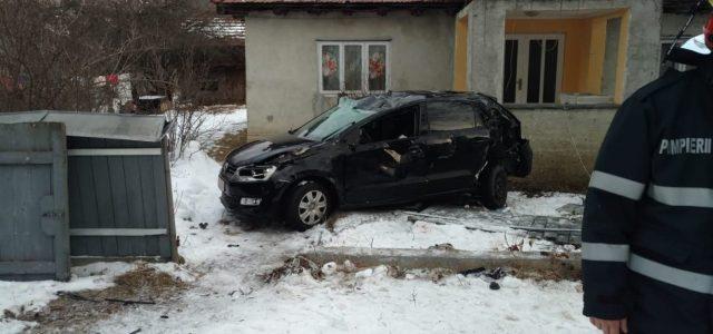 Grav accident în această dimineaţă la Preluca