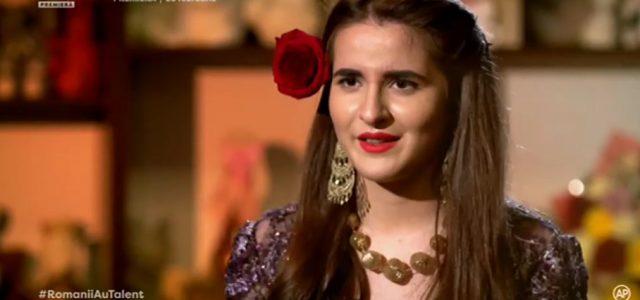 """Fata din Piatra Neamţ care a uimit România: """"Sunt Isabela Stănescu și sunt țigancă"""""""