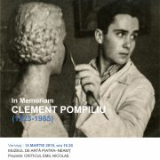 POMPILIU CLEMENT (1923-1985) In Memoriam