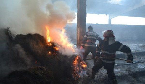 Hangu: bărbat găsit mort de pompieri , în fân