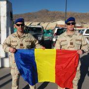 Jandarmii nemţeni s-au întors din Afganistan. Primire festivă la sediul Jandarmeriei