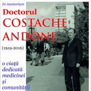 Dr. Costache Andone, o viață dedicată medicinei și comunității