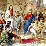DUMINICA FLORIILOR. ISUS INTRĂ ÎN IERUSALIM. PELERINAJ LA PIATRA NEAMŢ.