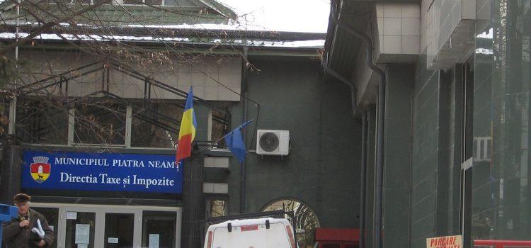 Piatra Neamţ: astăzi, 1 aprilie, ultima zi de plată a taxelor şi impozitelor fără majorări