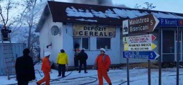 Pus pe gânduri de atâtea incendii în comuna sa, primarul Ion Rotaru a intrat la idei