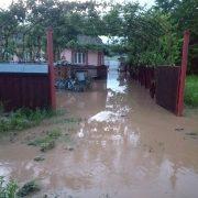 Neamţ: curţi inundate, peste 15 intervenţii ale pompierilor