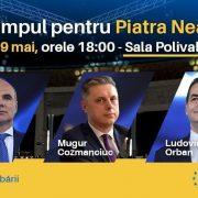 Mugur Cozmanciuc, președintele PNL Neamț: E timpul ca Neamțul să fie în primul rând! Vă aștept astăzi la lansarea candidaților PNL la alegerile europarlamentare