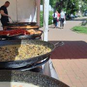 Festin în Parcul Central din Piatra Neamţ: fructe de mare, peşte şi dulciuri turceşti!(foto)