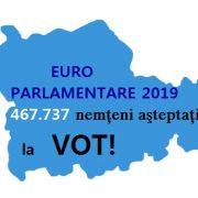 Euro-parlamentare/referendum 2019: 467.737 de nemţeni sunt aşteptaţi la vot!