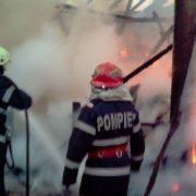 Incendiu la Ţibucani