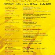 Regal Muzical la Piatra Neamţ: Vacanţele Muzicale revin cu ediţia 46!