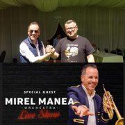 De la Papa Ioan Paul al doilea, la terasa Cocoşului de aur, Mirel Manea cântă UNIC pentru pietreni!