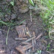 Dămuc: muniţie din cel de al doilea război mondial