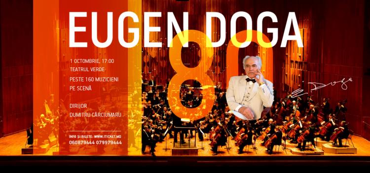 Va fi o seară de neuitat la Vacanţele Muzicale! Eugen Doga, Regele Valsului, concertează la Piatra Neamţ!